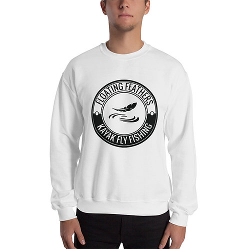Unisex Sweatshirt With Logo on Front only
