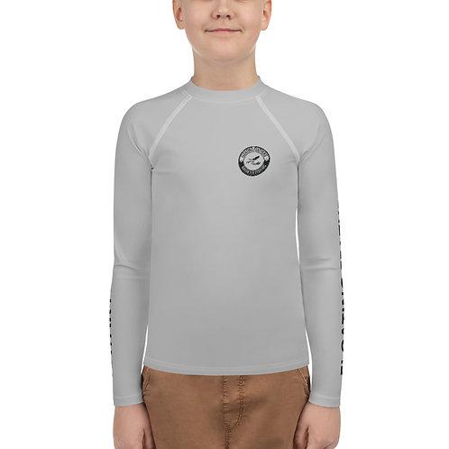 Youth Rash Guard Gray