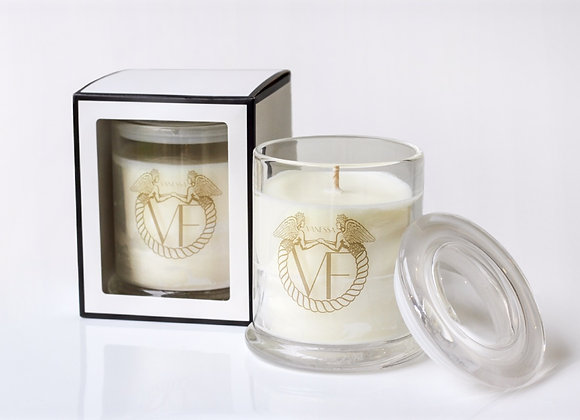 Hand Pored Soy Candle - Clear Tumbler Glass XL