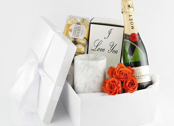 Luxury Hamper - Carrara Marble
