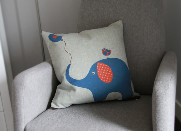 Linen Cushion Children's Room Decor