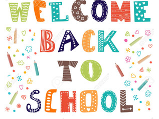 WELCOME BACK ALL Session 19-20