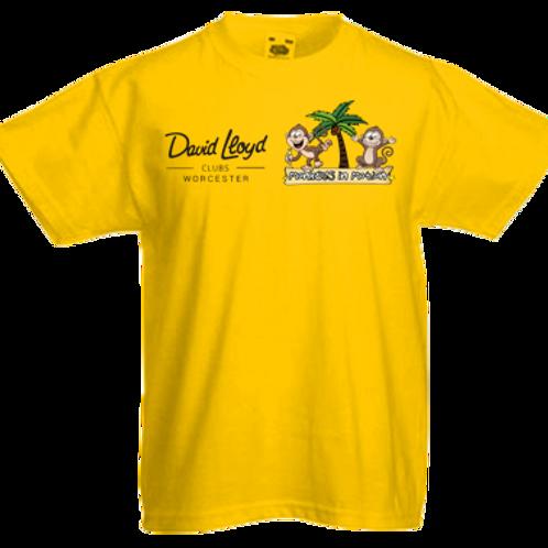 T-Shirt Partnership with David Lloyd