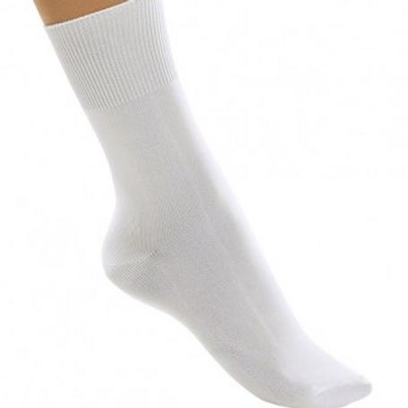 Boys White Dance Socks
