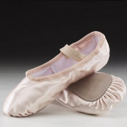 Satin Girls Ballet Shoes