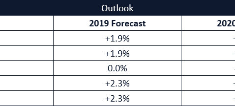 2018 Year Results & 2019 Forecast