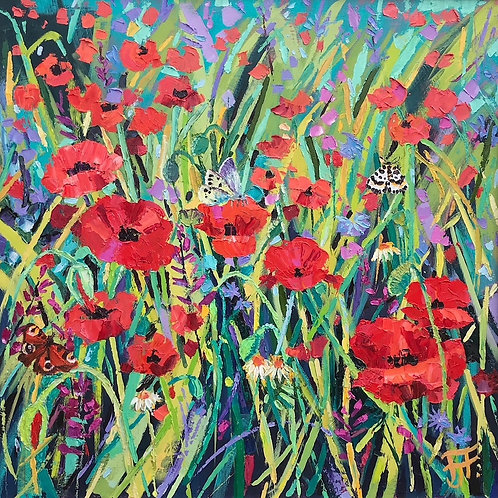 CARD - Pitton Poppies