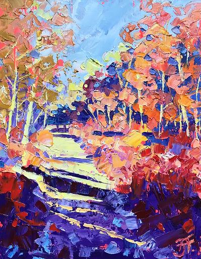 November in Bentley Woods  26x34cms.jpg