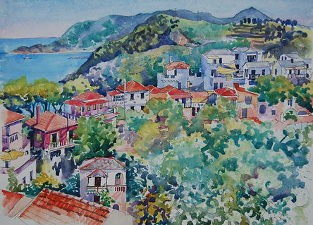 Alonissos  watercolour 48 x 37cm.JPG