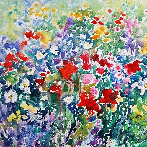 CARD - Summer Flowers