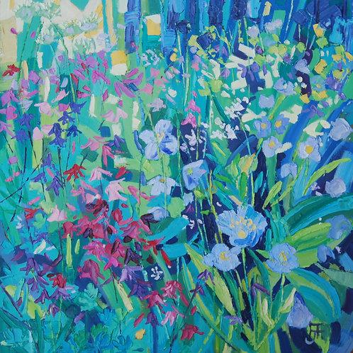 CARD - Woodland Flowers