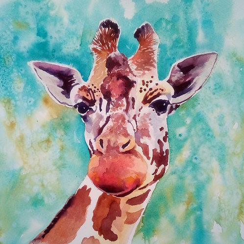 CARD - Giraffe