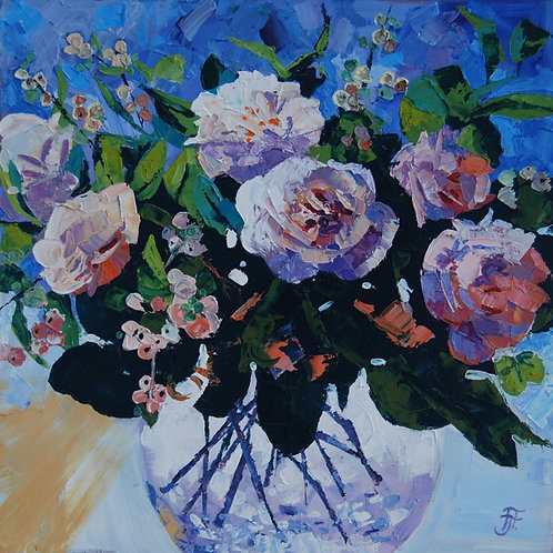 CARD - White Camellias