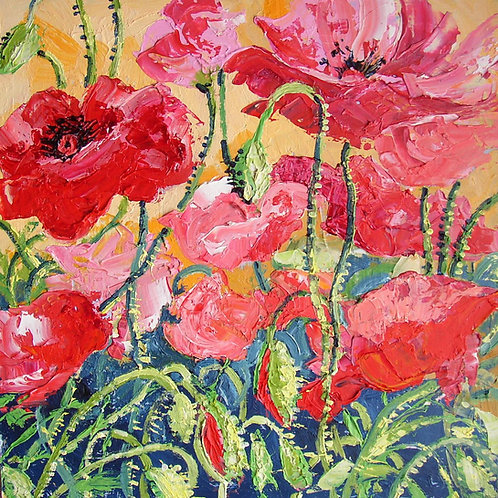 CARD - Poppies 1