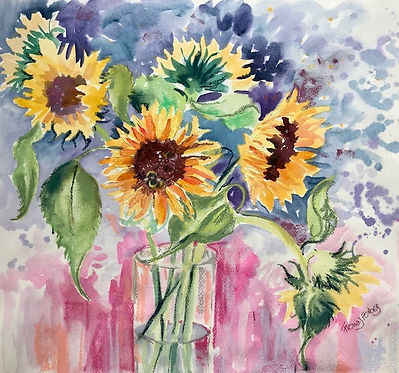 Sunflowers 45x45cms.jpg