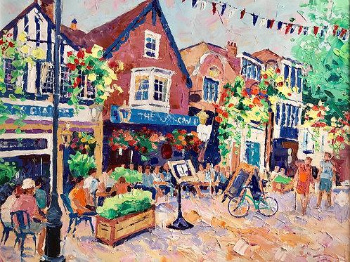 CARD - Market Square, Salisbury