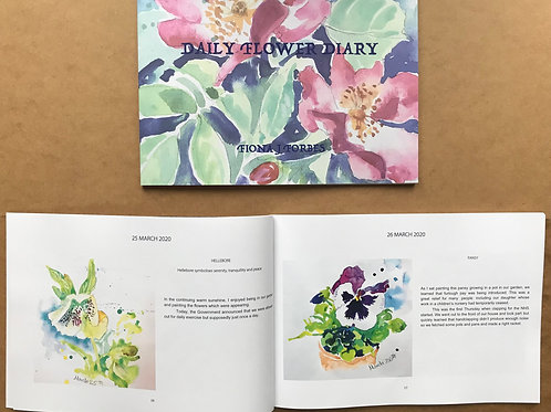 BOOK - Daily Flower Diary UK SALES