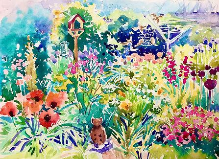 Suzie's Garden 34 x 34cms.jpg