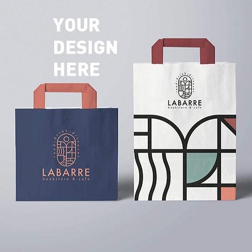 Customized your design paper bag 1000pcs