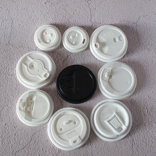 Hot Water Coffee Cup PS/PP Lid 1000pcs