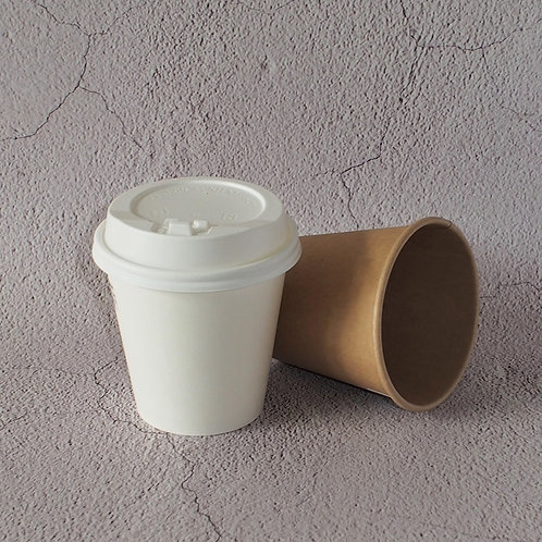 (Stock) Single Walled Paper Cups w/ Coating 100 pcs