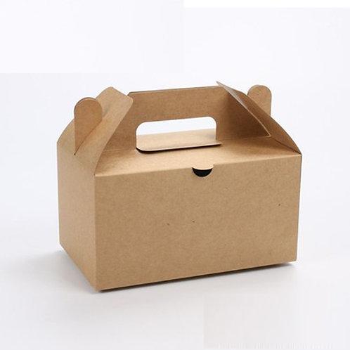 Kraft Paper Carry Box Gift Box 100 pcs