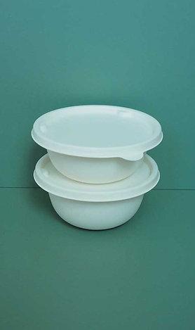 (STOCK) Biodegradable Bagasses Bowl White 200 sets