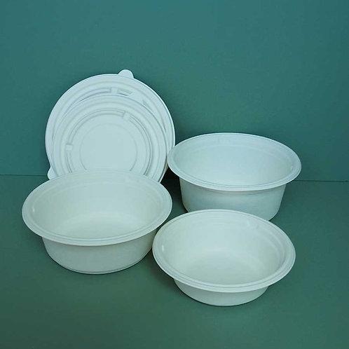 (STOCK) Biodegradable Bagasses Bowl White 300 sets
