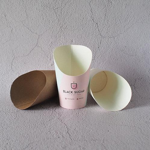 Kraft Paper Chips Cup  1000 pcs