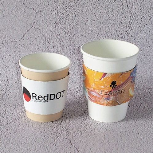 Paper Cups sleeve customise print