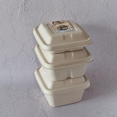 Biodegradable Food Box Square Shape