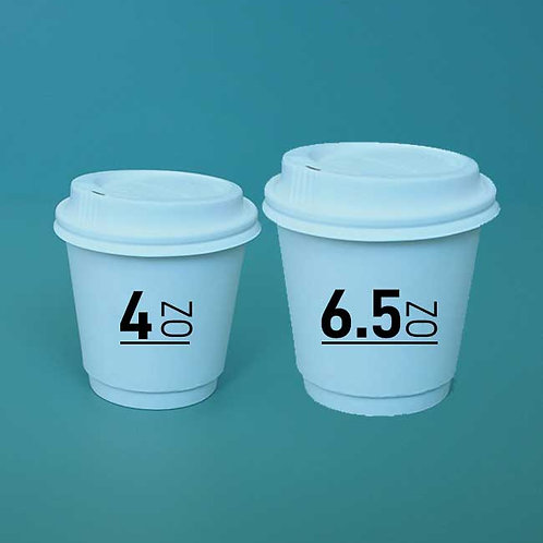 (STOCK) Tasting Coffee Cups Double Wall
