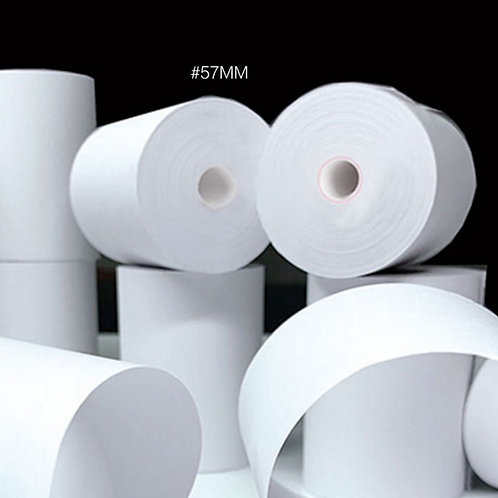 Dot print receipt paper for kitchen 7575  50 rolls