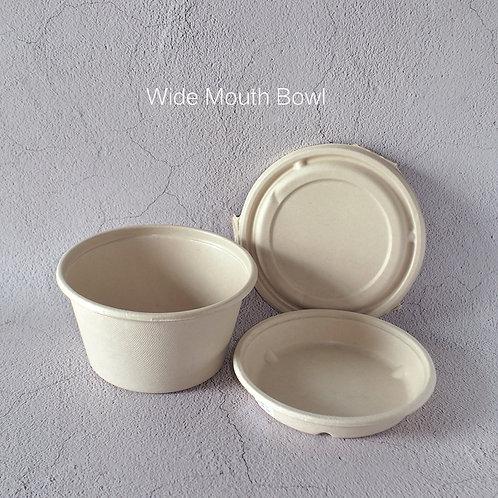 Biodegradable Bagasse Bowl 192mm diameter  100pcs