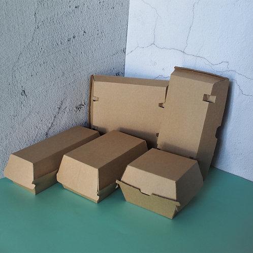 Burger & Hot Dog Paper Box 100pcs