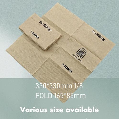 Logo and print Napkin Tissue Paper 2 Ply MOQ 10 cartons
