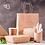 Thumbnail: Biodegradable kraft paper shopping bag 100 pcs