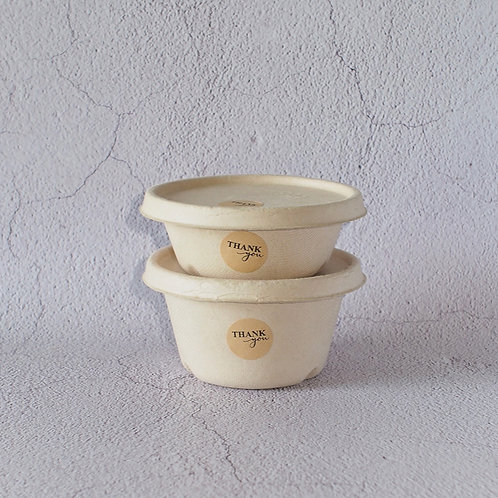 Biodegradable Bagasse Bowl Small Size 100pcs