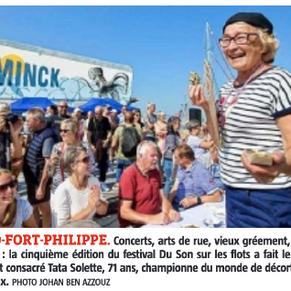 """La revue de presse de """"Du Son sur les flots"""""""