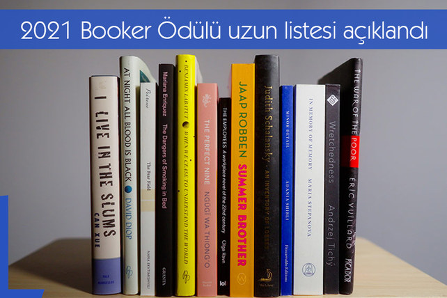 2021 Booker Ödülü uzun listesi açıklandı