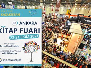 16. Ankara Kitap Fuarı açıldı
