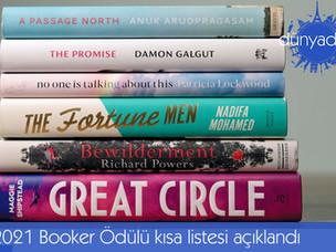 2021 Booker Ödülü kısa listesi açıklandı