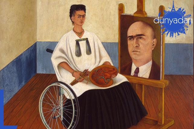 Frida Kahlo'nun tüm eserleri bir kitapta