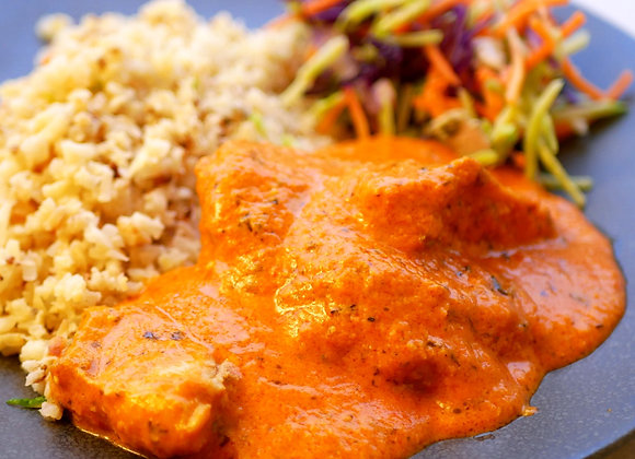 Butter Chicken with Cauli Rice