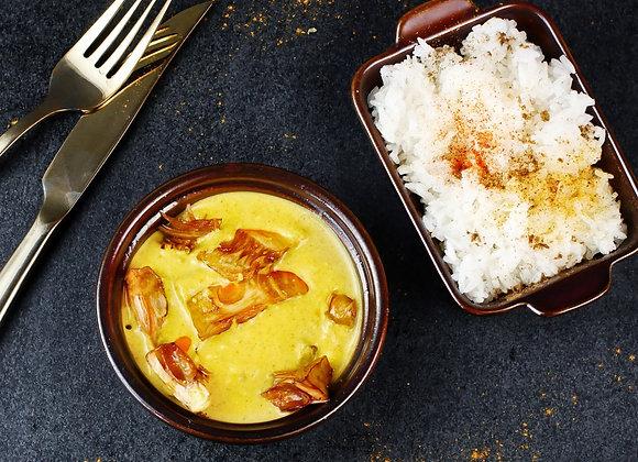 Yellow Jackfruit Curry
