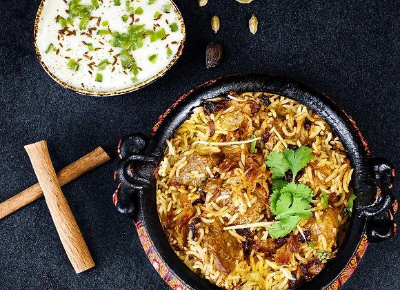 Fragrant Lamb Briyani