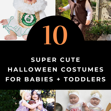 10 Super Cute Halloween Costumes For Babies + Toddlers