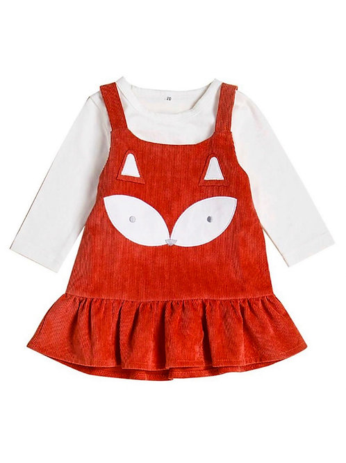PHOEBE FOX BODYSUIT + DRESS SET