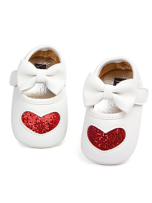 SPARKLE HEART SHOES (MULTIPLE COLORS)