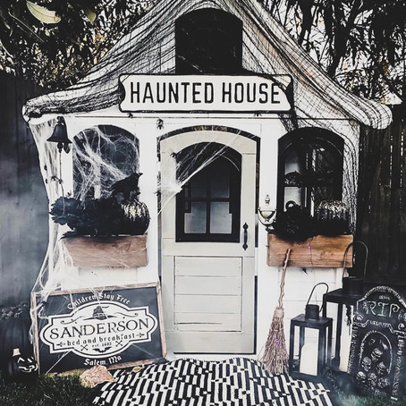 #PlayroomGoals - Adorable Hocus Pocus Playhouse - Halloween Decorations For Kids